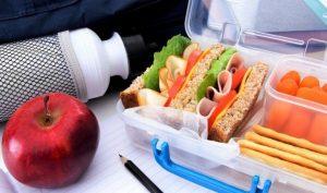 alimentos para el colegio