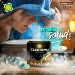 Utiliza Asmachilca para realizar inhalaciones