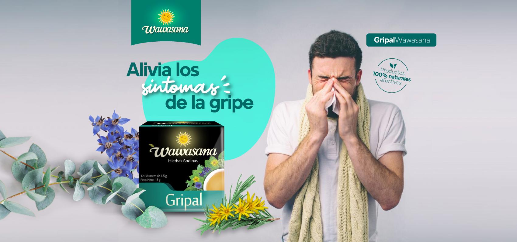 gripal alivia sintomas gripe