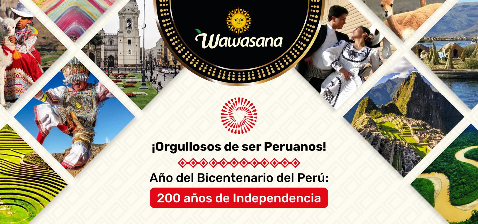 Feliz Bicentenario Wawasana Peru