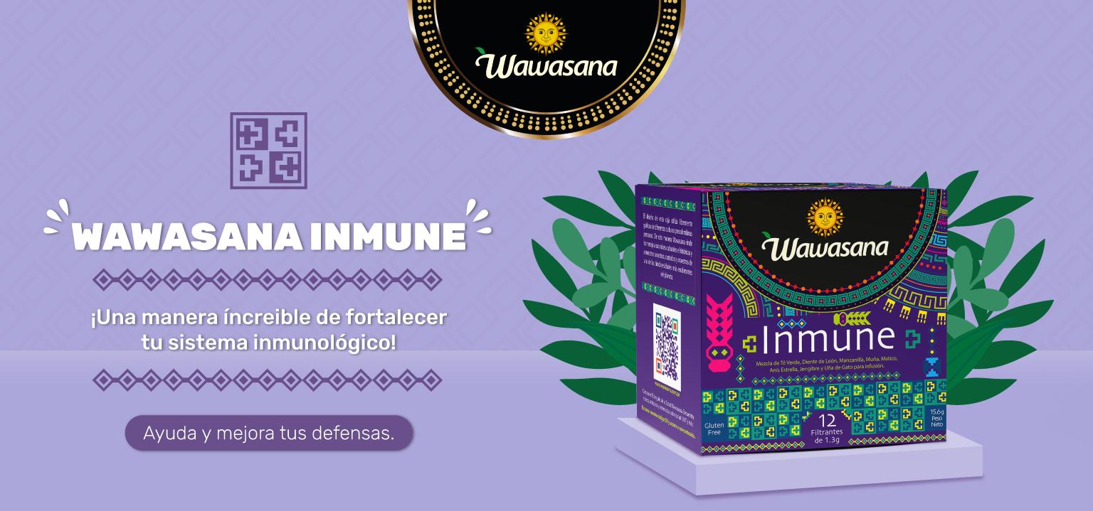 Wawasana Inmune Fortalece tu sistema inmunologico